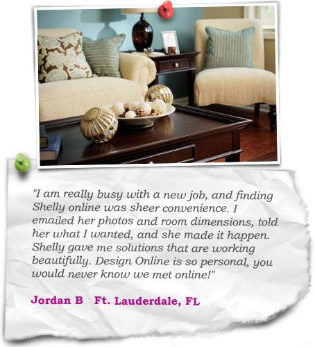 Design client testimonial